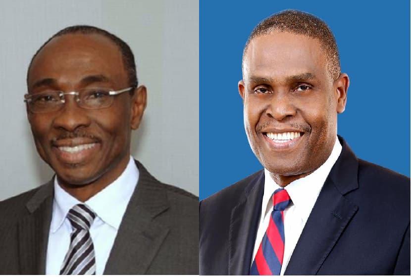 L'ex-Premier ministre Evans Paul et le Premier ministre désigné Jean-Henry Céant / Collage: Loop Haiti