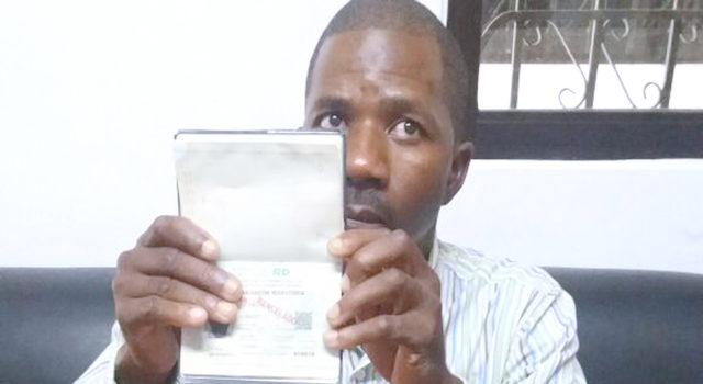 Cet Haïtien risque d'être expulsé après 37 ans de vie en République Dominicaine. Photo: El Caribe