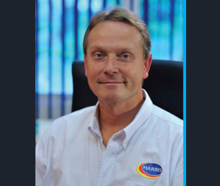CEO-Harris Paints Group, Ian Kenyon.