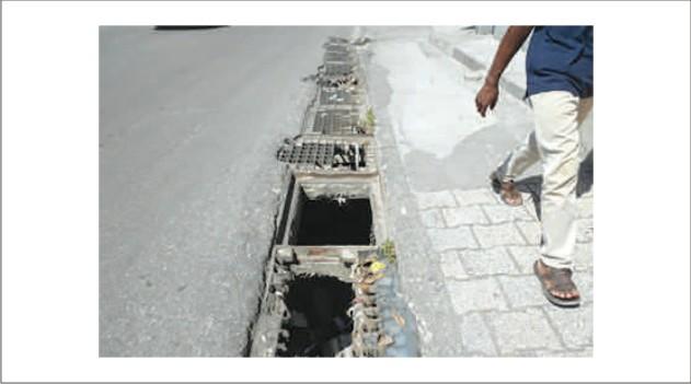 Photo illustration: Égouts a Port-au-Prince - Crédit: Le National