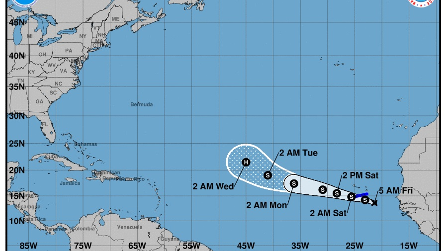 Atlantic Weather System 90 Percent Likely To Form Tropical Cyclone Loop News