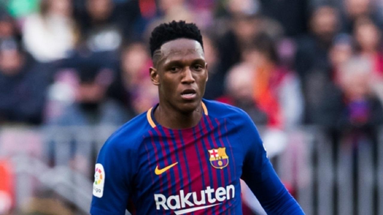 Barcelona defender Yerry Mina.
