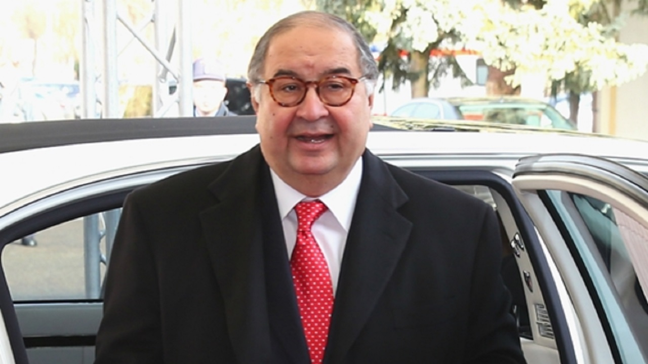 Arsenal minority shareholder Alisher Usmanov.