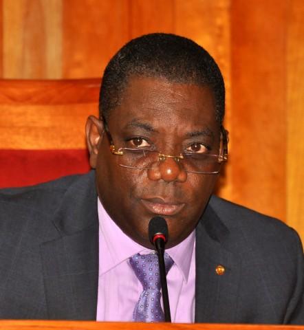Le sénateur haitien, Ronald Lareche./Photo: Loop Haiti
