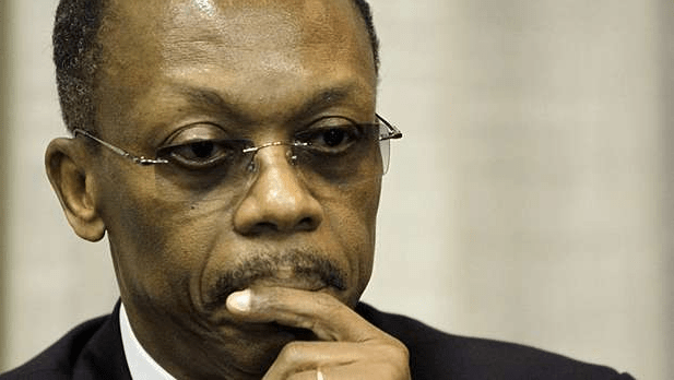 L'ancien président de la République d'Haiti, Jean  Bertrand Aristide