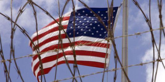 Illustration du Drapeau des Etats-Unis / Migration - Crédit : Archive Loop Haiti