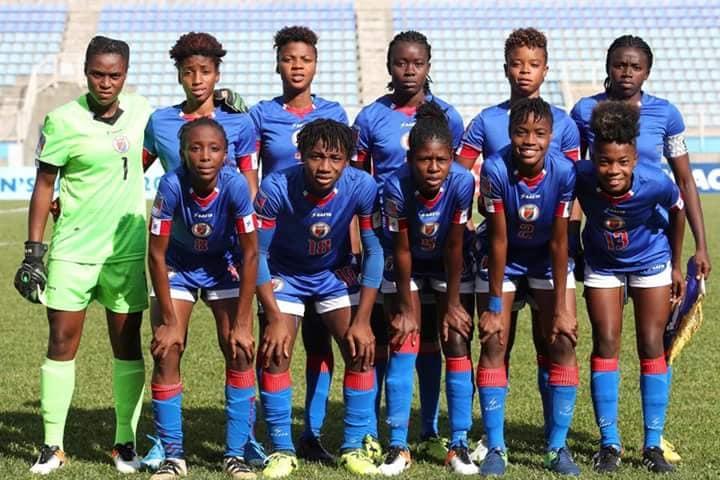 L'équipe haïtienne des moins de 20 ans / Crédit: FHF