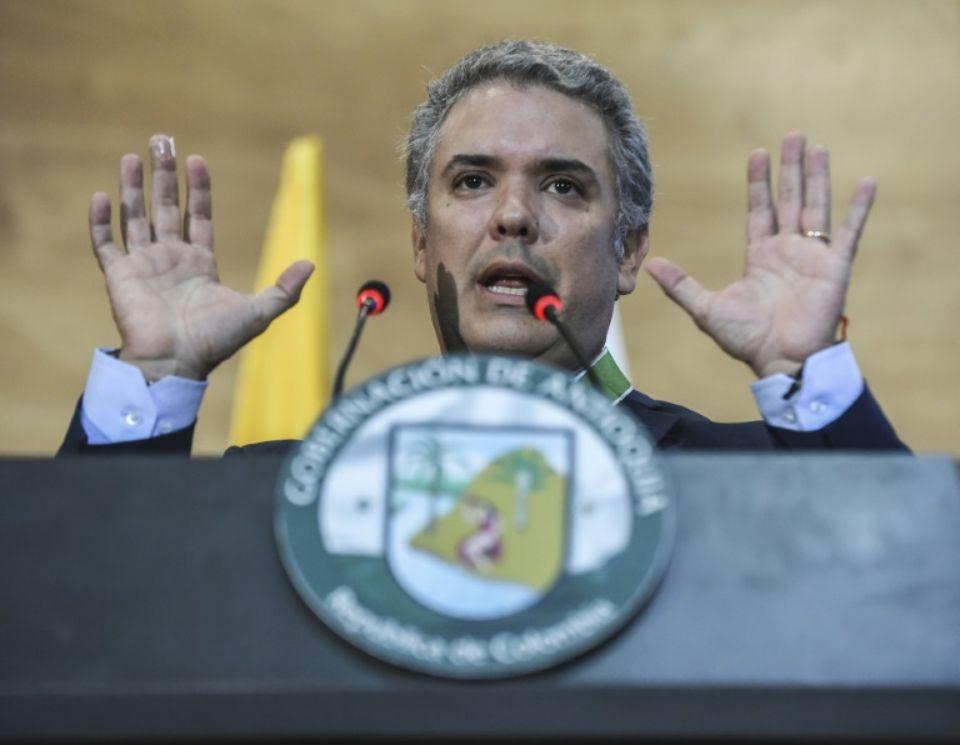 Le président-élu colombien Ivan Duque