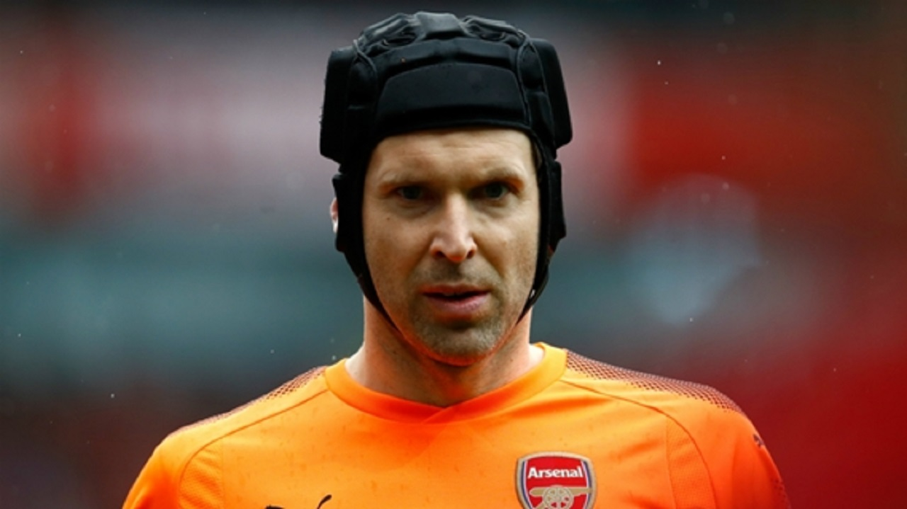 Arsenal goalkeeper Petr Cech.
