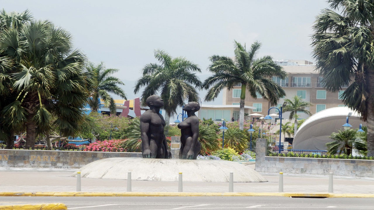 The Emancipation Park in St Andrew.