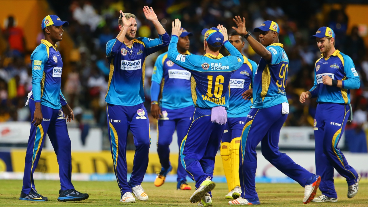 Barbados Tridents ended Guyana's unbeaten run in the 2018 CPL