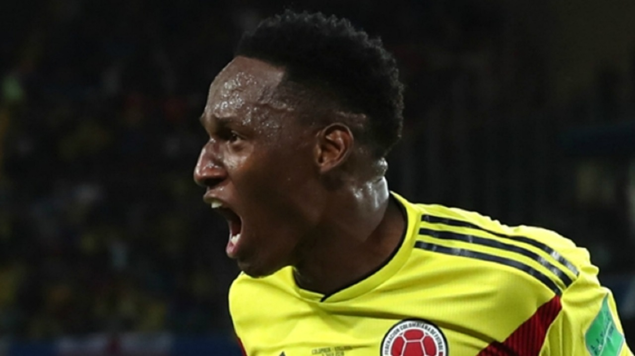Colombia and Everton defender Yerry Mina.