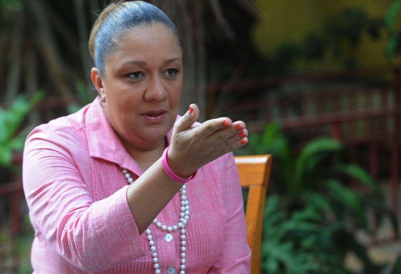 L'ancienne Première dame de la République, Sophia Martelly