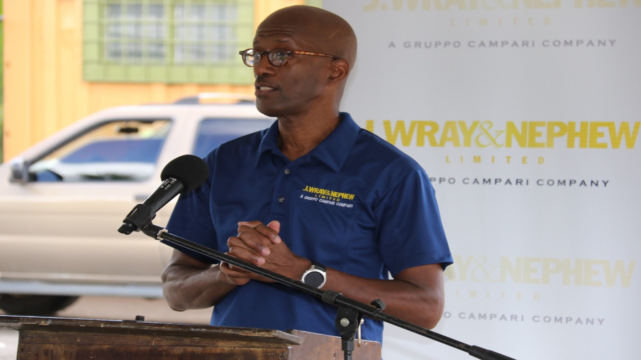 Clement 'Jimmy' Lawrence, chairman of J. Wray and Nephew.