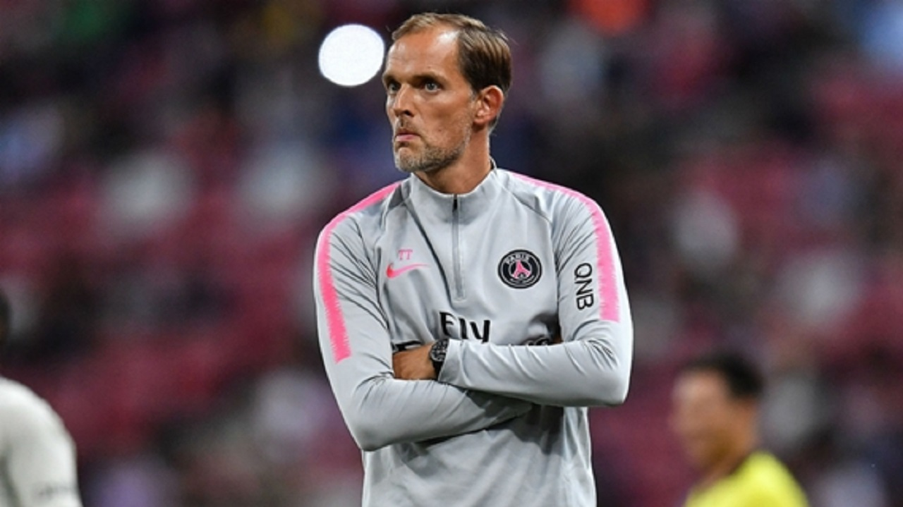PSG coach Thomas Tuchel.