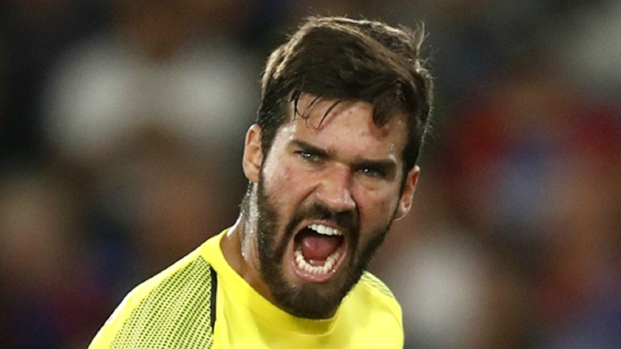 Liverpool goalkeeper Alisson.
