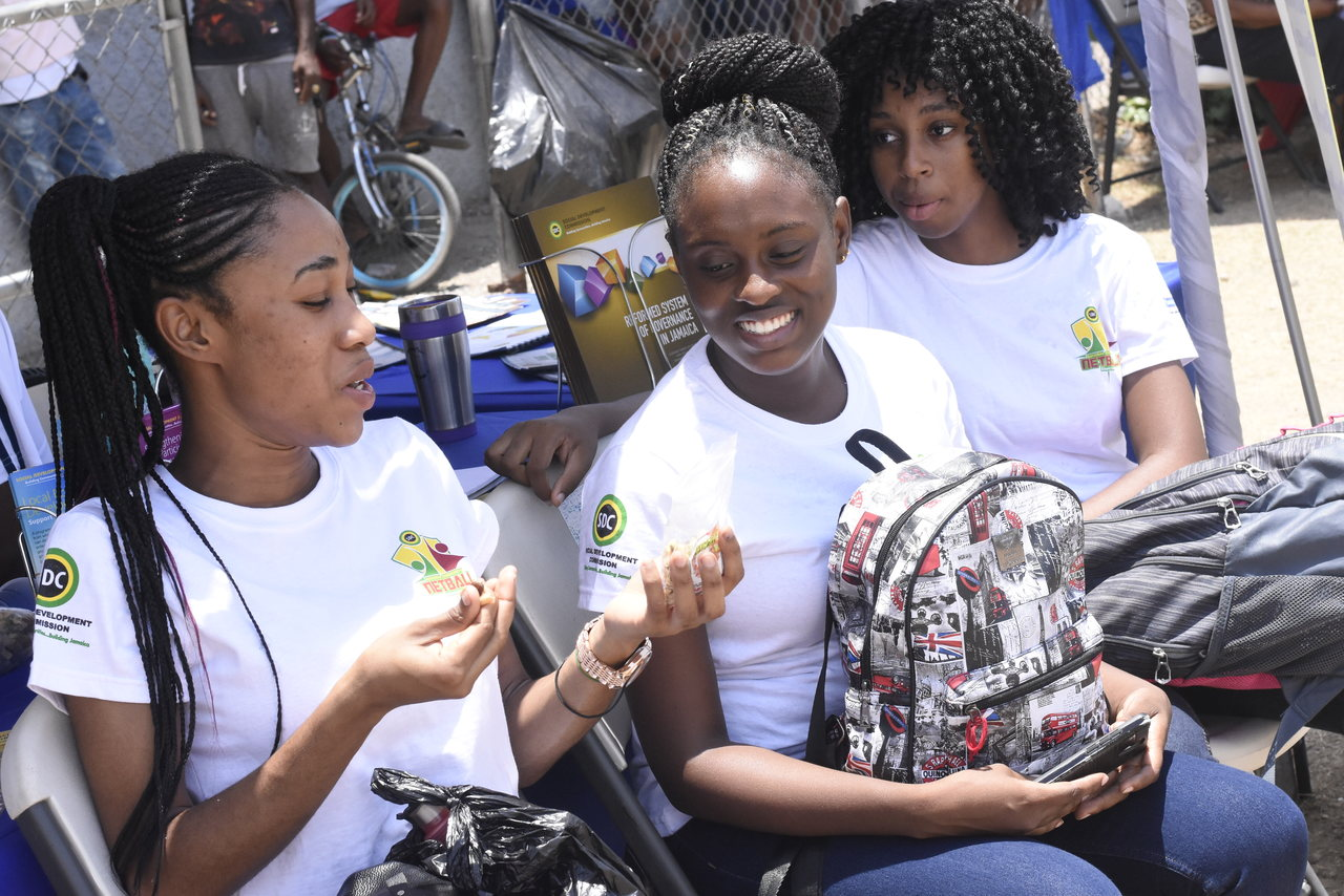 The event was an effort by members of the community to highlight the peace that has reigned for the past eight years, while enabling outsiders to see what it has to offer, with the SDC providing the support needed.  (Photo: Marlon Reid)