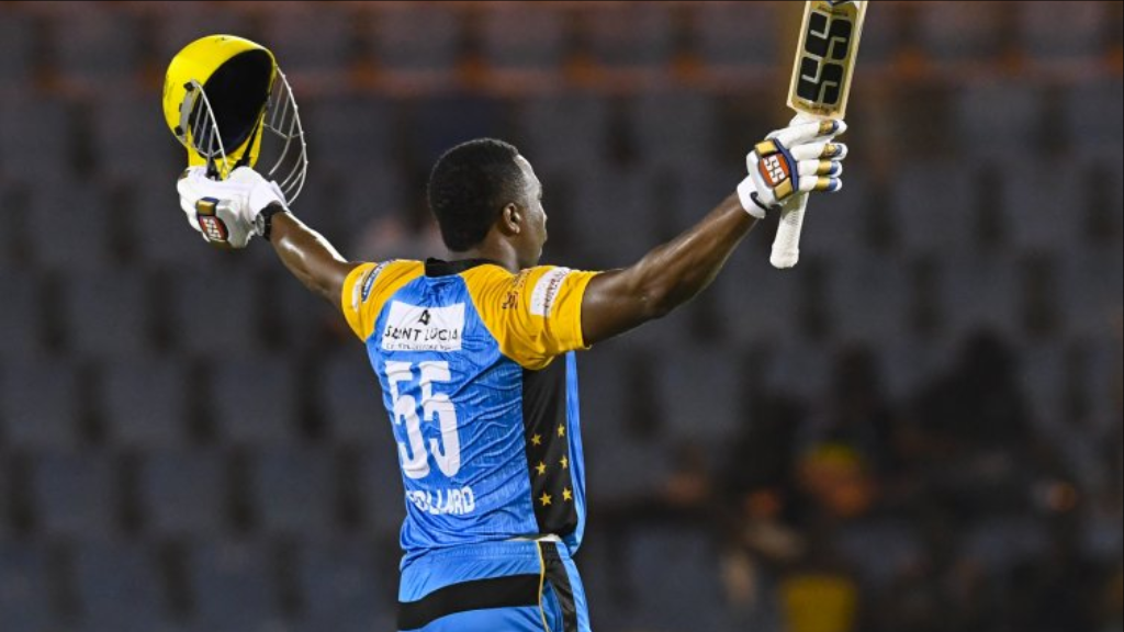 Pollard's fine form in the 2018 Hero CPL (Photo courtesy CPL T20 Ltd.2018)