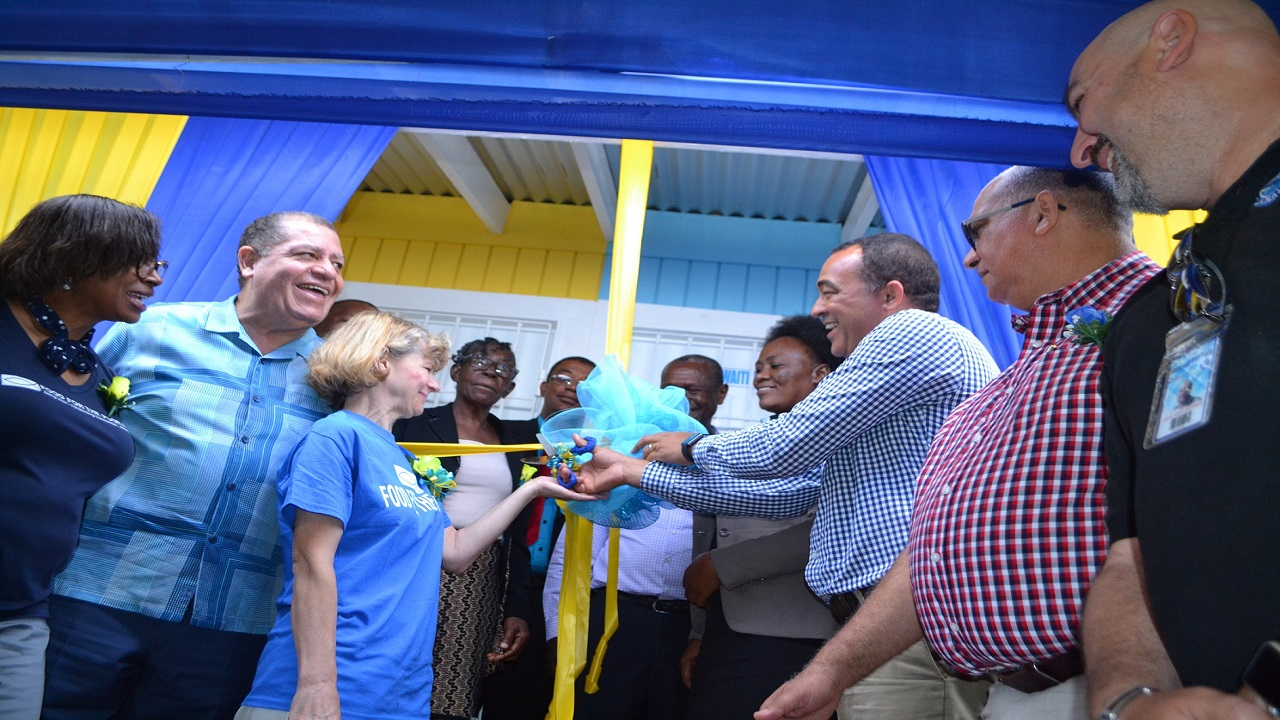 Dr. Christopher Tufton, Jamaica's Minister of Health, who also attended the opening, called the new Moravia Health Centre a true example of a partnership and a demonstration of the vision to improve public health and foster community development.