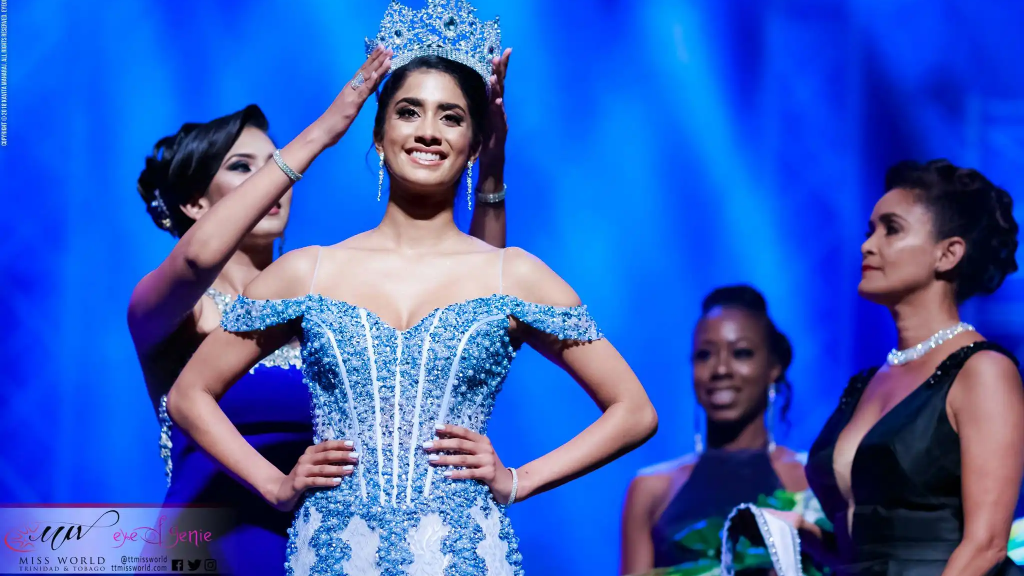 Ysabel Bisnath crowned Miss World Trinidad and Tobago on Sunday 5 August (Photo: Trinidad and Tobago Miss World 2018)