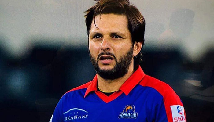 Shahid Afridi is out of the 2018 Caribbean Premier League