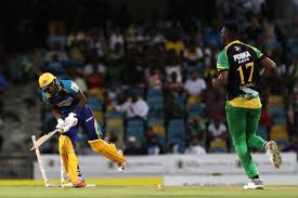 Jamaica Tallawahs beat the Barbados Tridents by five wickets at Kensington Oval (Courtesy CPL via Getty Images)