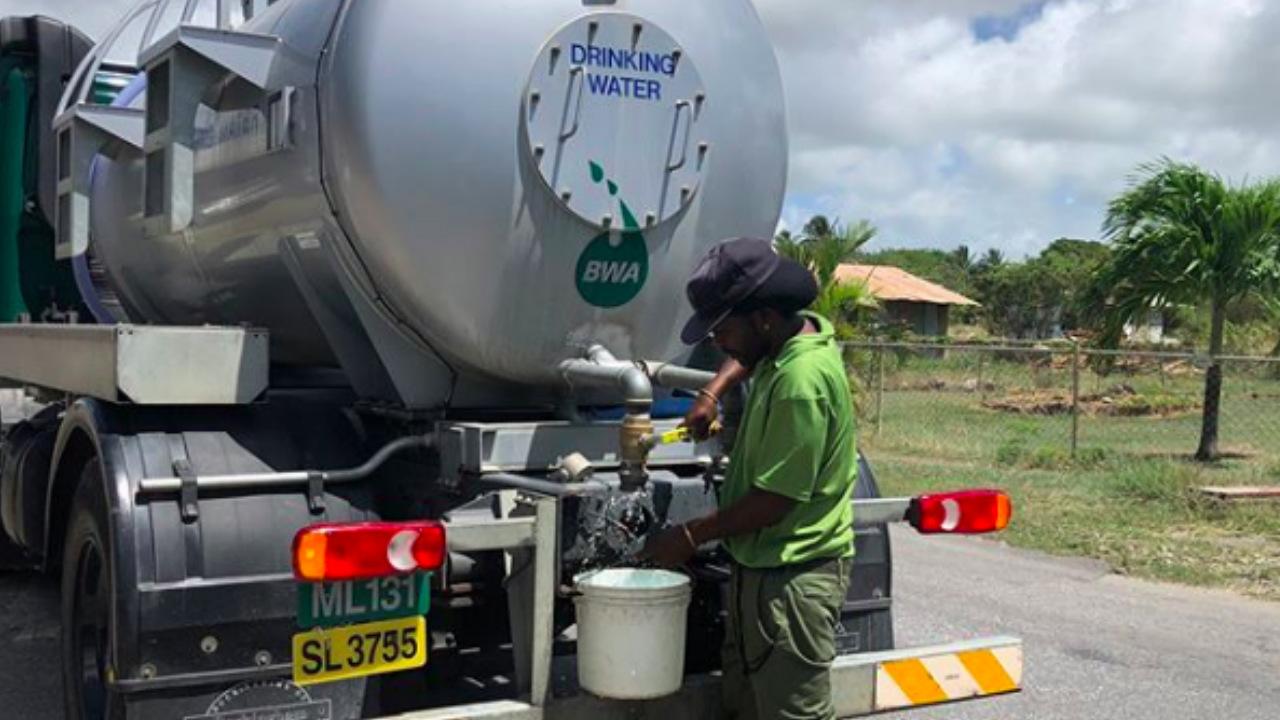 BWA water tanker