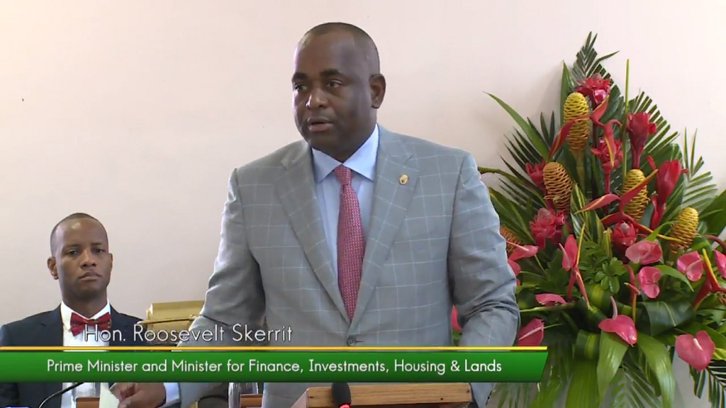 Photo: Dominican Prime Minister Roosevelt Skerrit said his government will be banning the importation and use of Styrofoam containers and plastic plates, cups, cutlery and straws. The news was announced during a Budget debate in Parliament on July 25, 2018.