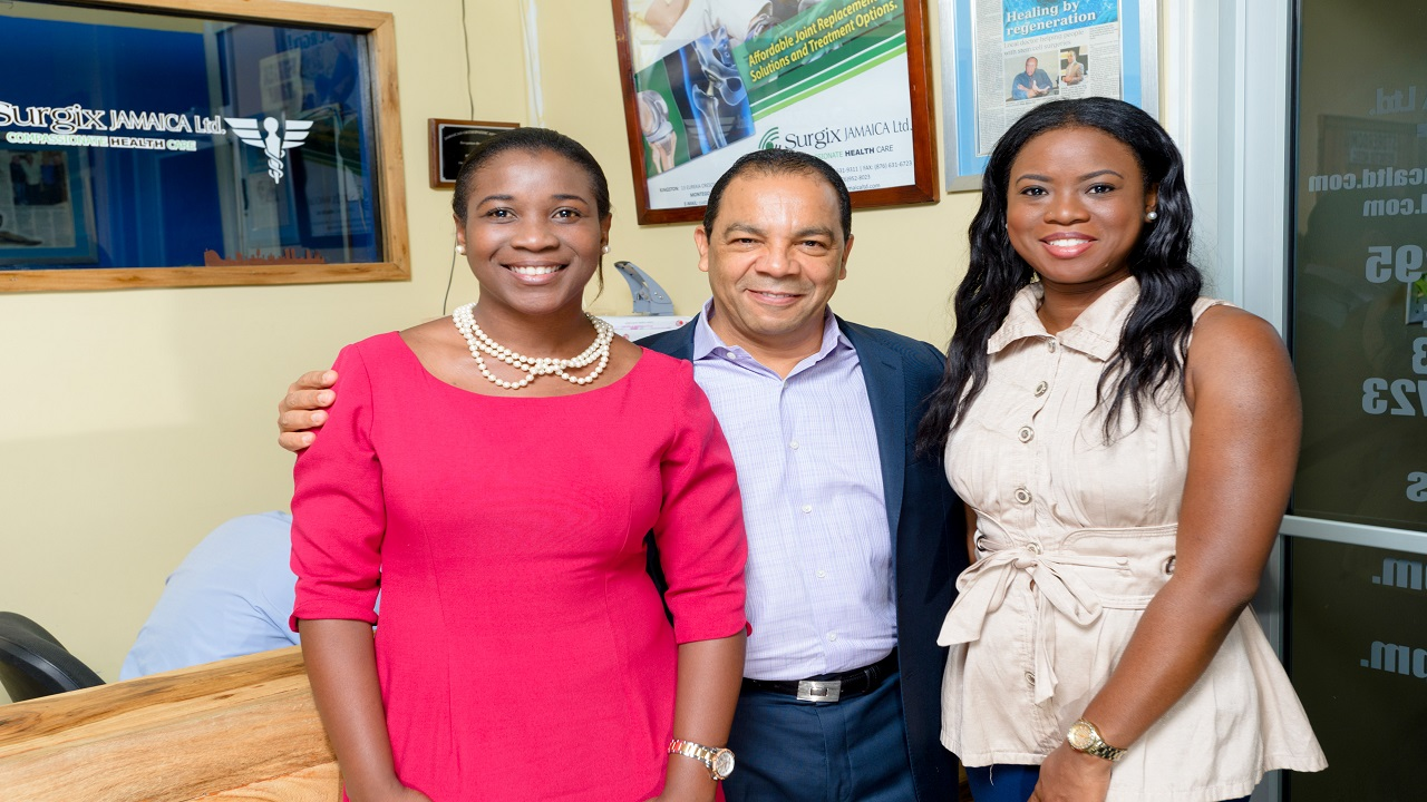 From Left Keerene Carty Ceo Of Ble Bee Digital Agency Ltd Managing