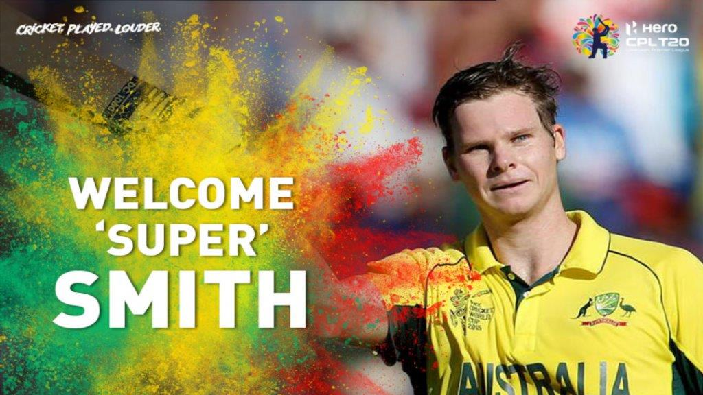 Smith replaced Shakib Al Hasan in the Barbados Tridents squad