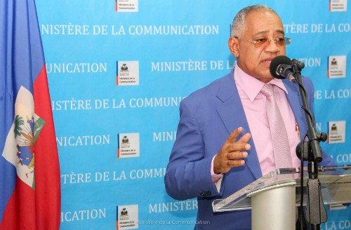 L'ingénieur architecte Bernard Schettini, au ministère de la Communication en octobre 2015 dans le cadre des Lundis de la Conférence./Ministère Communication