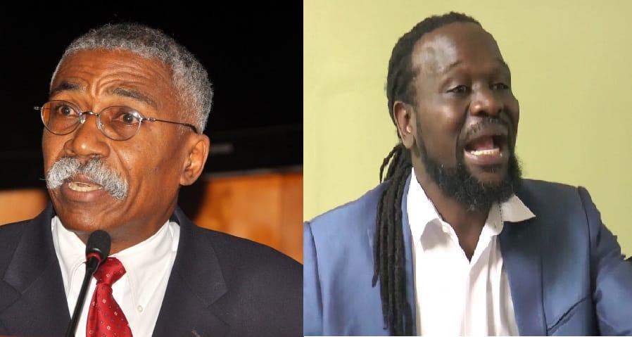 Les sénateurs Patrice Dumont et Antonio Chéramy / Collage: LoopHaiti