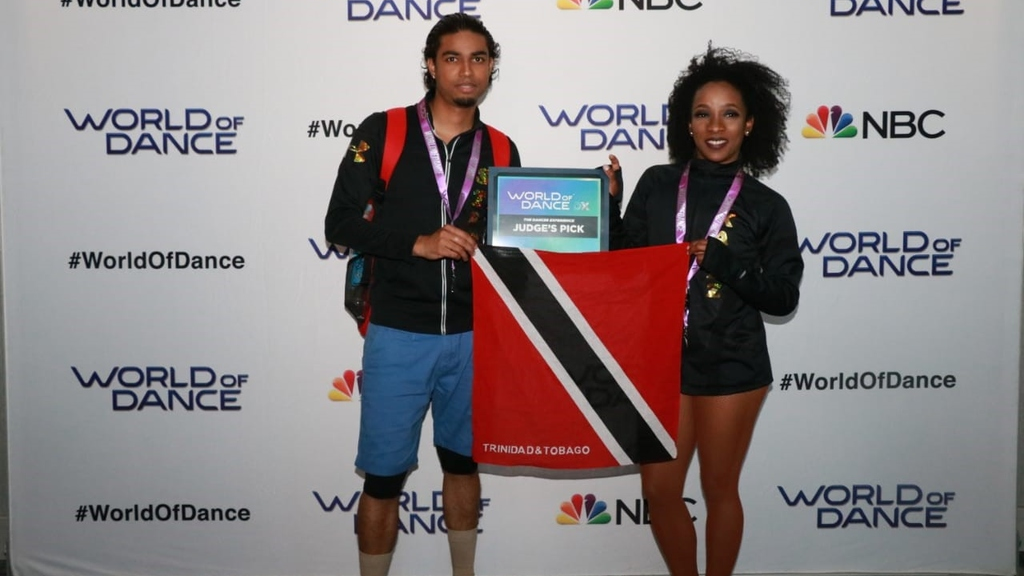 Stefan Maynard and Karline Brathwaite received the coveted Judges Pick.
