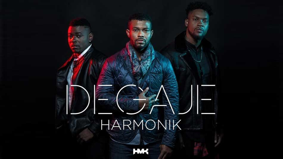 Harmonik et le Kompa s'imposent en maître cet été en Martinique. Photo: Couverture de l'album Degaje du groupe Harmonik