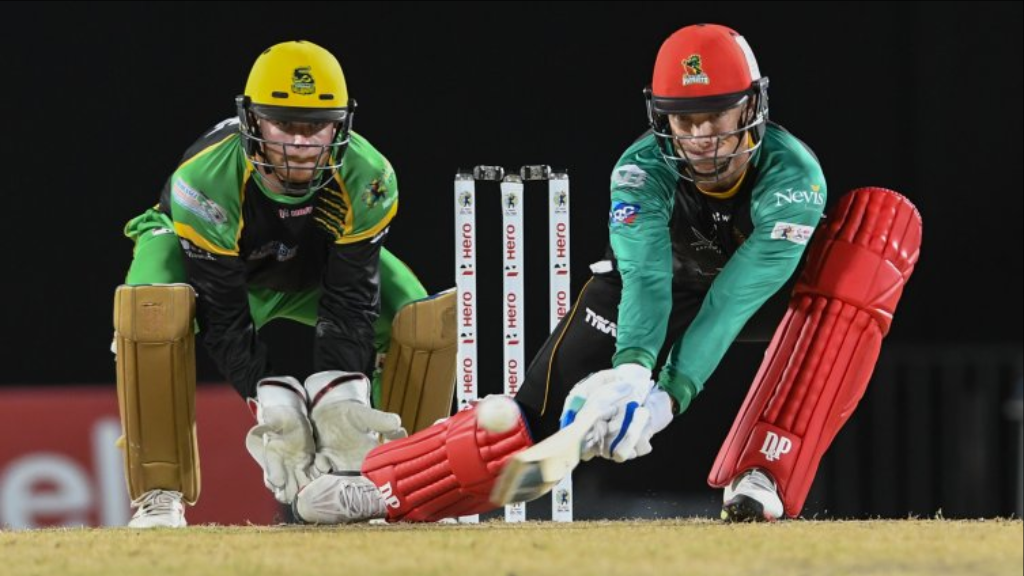 St Kitts and Nevis Patriots beat the Jamaica Tallawahs by two wickets in the Eliminator