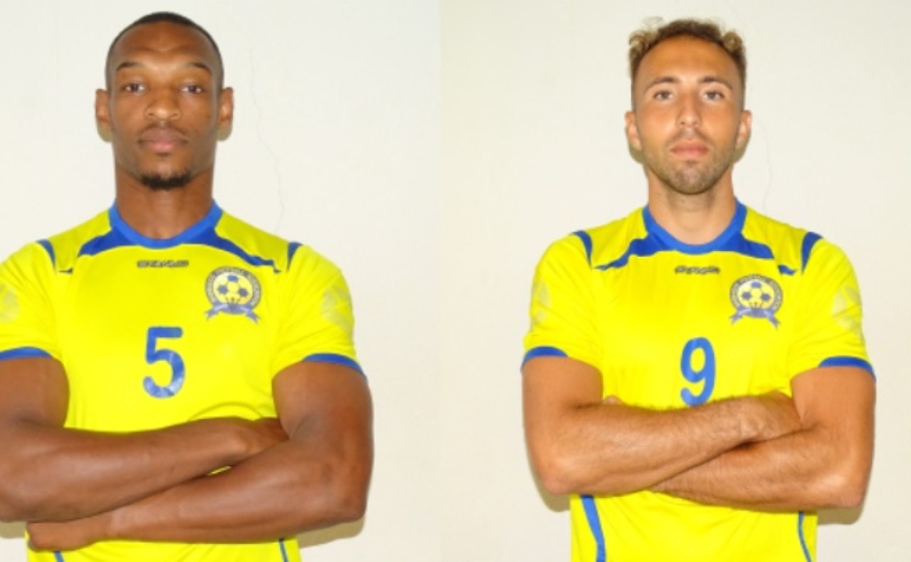 English-based duo Krystian Pearce and Hallam Hope (L-R)