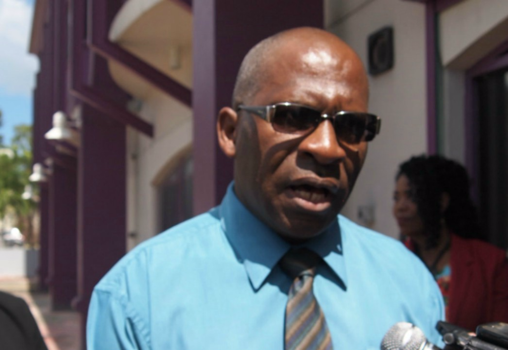 President of the General Insurance Association of Barbados (GIAB), Michael Holder.