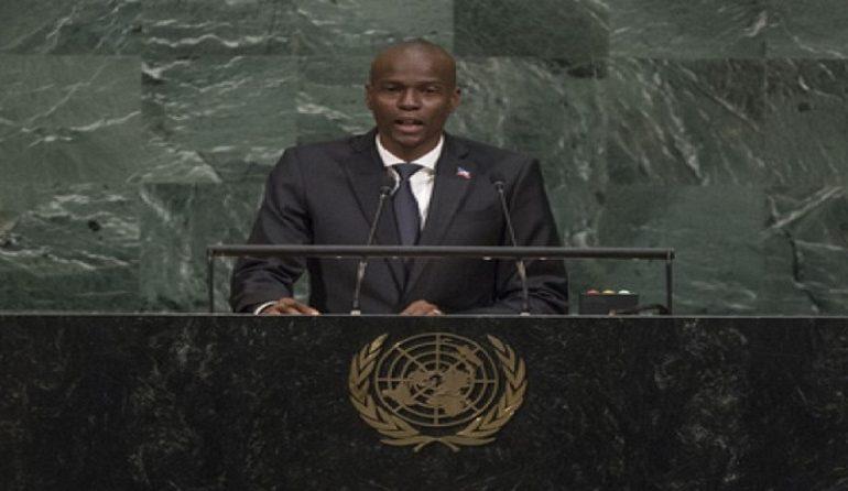 Le Président de la République Jovenel Moïse à la « 72e session ordinaire de l'Assemblée générale des Nations Unies».