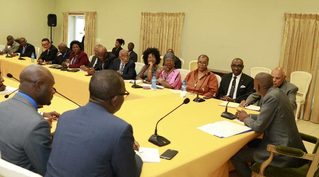 Les membres du comité de pilotage des Etats Généraux Sectoriels