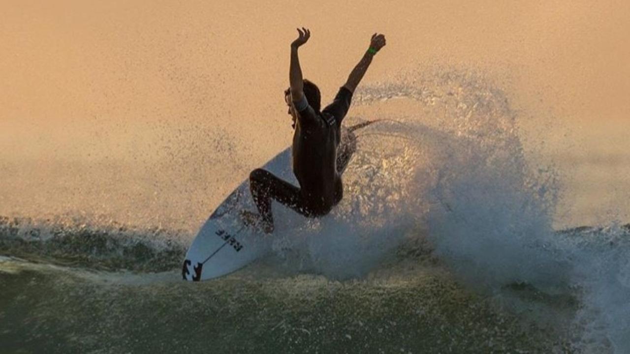 Josh Burke. ( World Surf League Photo)
