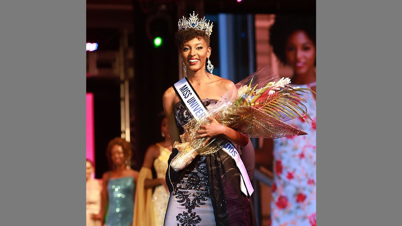 Meghan Theobalds is Miss Universe Barbados 2018.