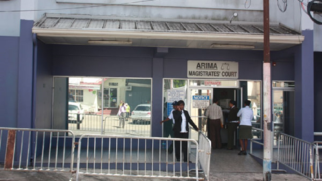 Photo: Arima Magistrates' Court