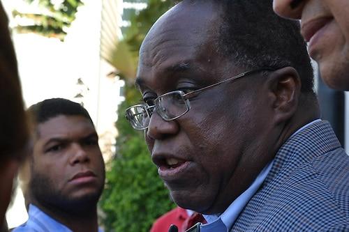 """""""L'immigration haïtienne est négative pour la RD"""" selon ce dominicain. Photo: Acento"""