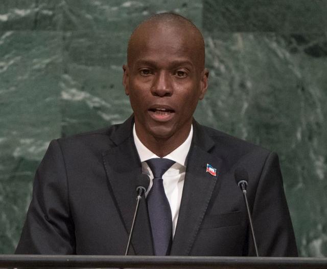 Le président haïtien sur la tribune de l'ONU