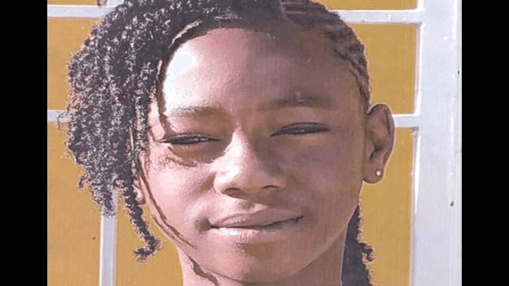 Have you seen her? 15-year-old Mya Lewis from Laventille has been reported missing. Photo via the Trinidad and Tobago Police Service.