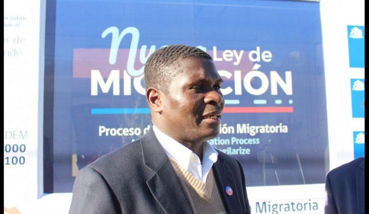 William Pierre souhaite que le gouvernement chilien apporte son aide à ces milliers d'Haïtiens qui désirent rentrer chez eux aujourd'hui.