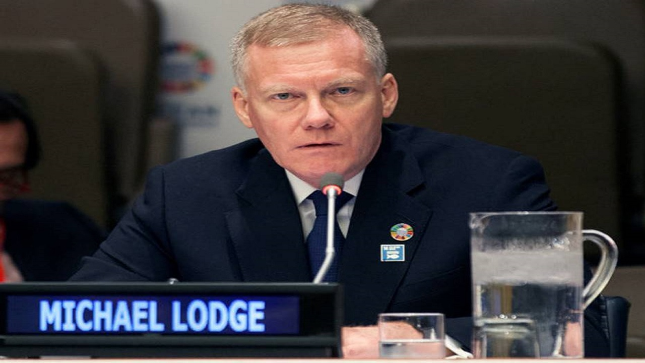 Michael Lodge, Secretary General of the International Seabed Authority.