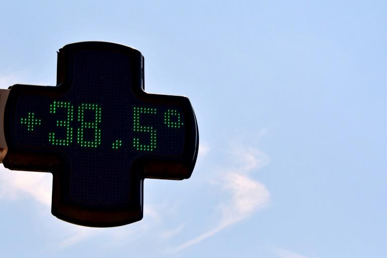 Température de 38,5 degrés à Toulouse le 6 août 2018