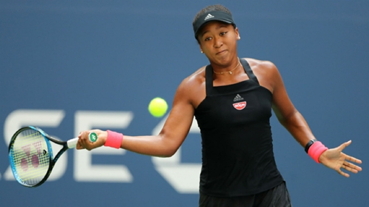 Naomi Osaka in the US Open quarter-finals.
