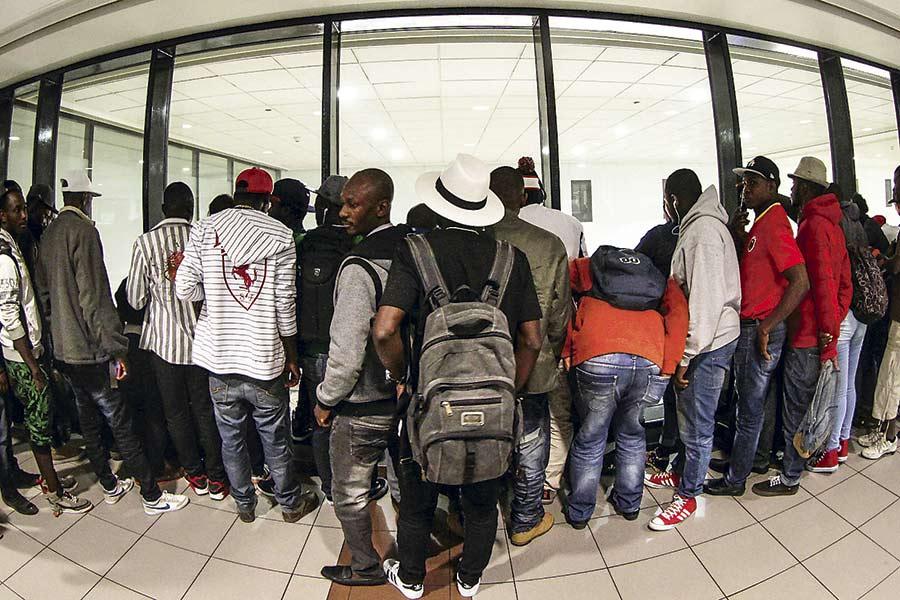 Ces organisations rejettent le plan de faire revenir les Haïtiens. Photo: La Tercera